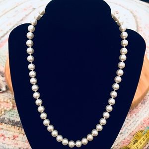 Vintage Strand Of Faux Pearls 15 Inches